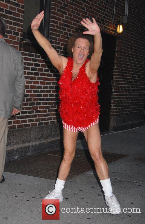 Richard Simmons and David Letterman 4
