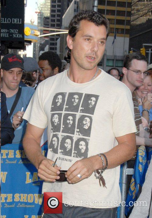 Gavin Rossdale, Cbs and David Letterman 6