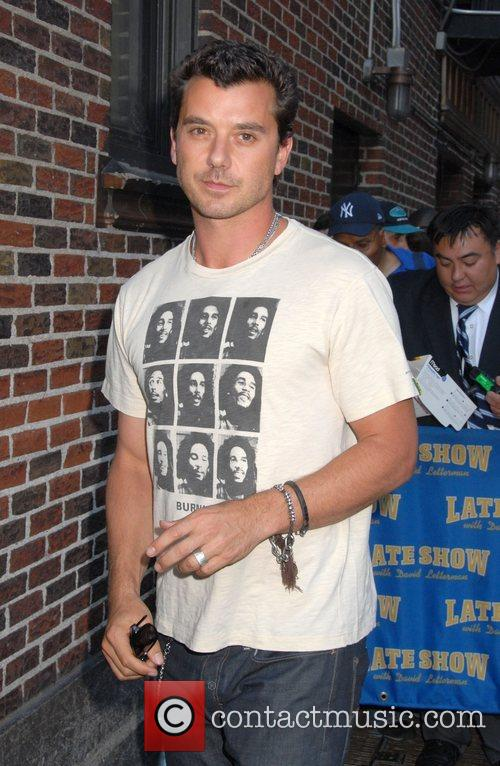 Gavin Rossdale, Cbs and David Letterman 5