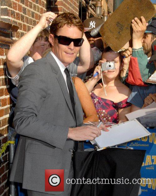 Scott Dixon, Cbs and David Letterman 3