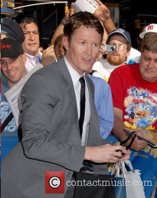 Scott Dixon, Cbs and David Letterman 1