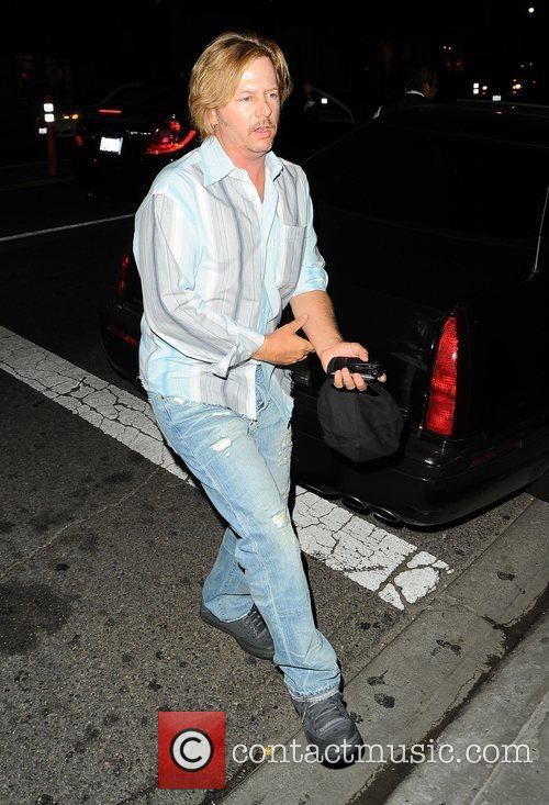 Arriving at STK in West Hollywood