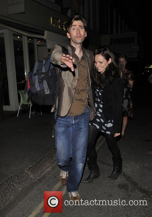 David Tennant, Catherine Tate, Doctor Who and Duke Of York Theatre 1