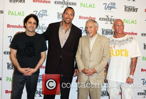 George Maloof, Dwayne Johnson AKA The Rock, Dennis...