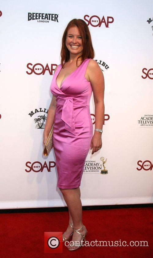 Arriving at the SoapNet Night Before Party for...