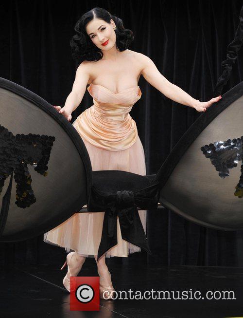 Dita Von Teese unveils her new Wonderbra By...