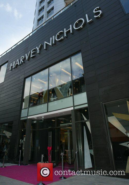 Opening celebrations for the new Harvey Nichols store...
