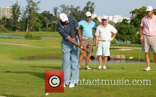 Alonzo Mourning Irie Weekend 2008 Celebrity Golf Tournament...