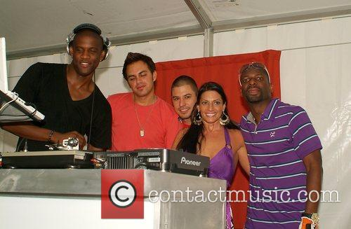 Guests and DJ Irie Irie Weekend 2008 Celebrity...