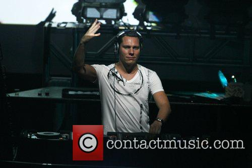 DJ Tiesto  performing live at Webster Hall...