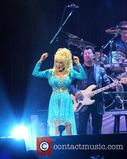 Dolly Parton live at the O2 Arena London,...