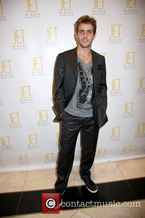 Celebrates Donnie Wahlberg's 39th birthday at JET Nightclub...