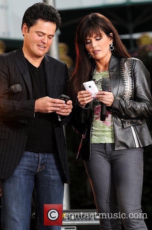 Donny Osmond and Marie Osmond 3