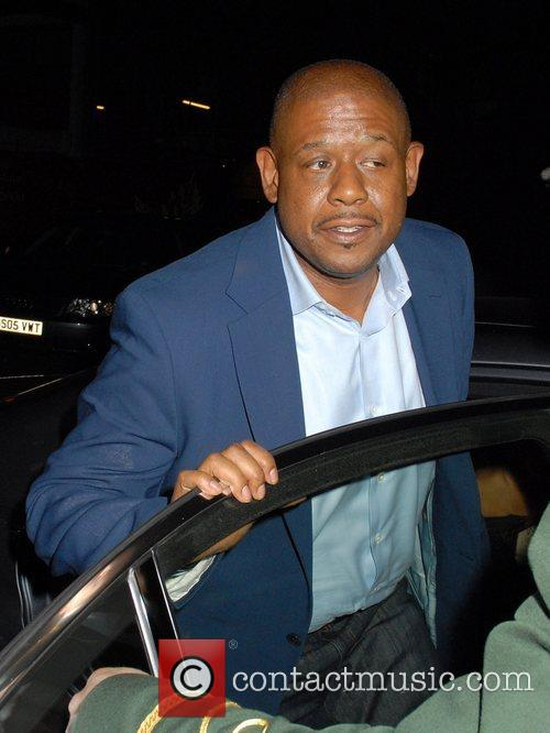 Forest Whitaker outside the Dorchester Hotel London, England