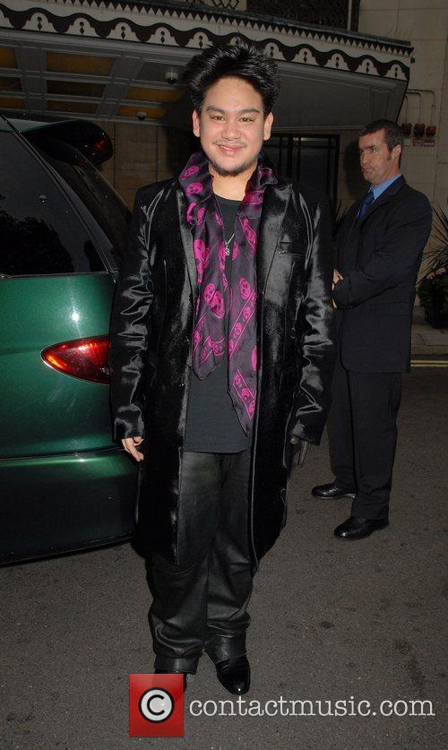 Prince Azim outside the Dorchester Hotel London, England