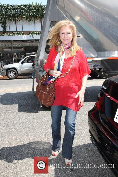 Rick Hilton and Kathy Hilton have lunch at...