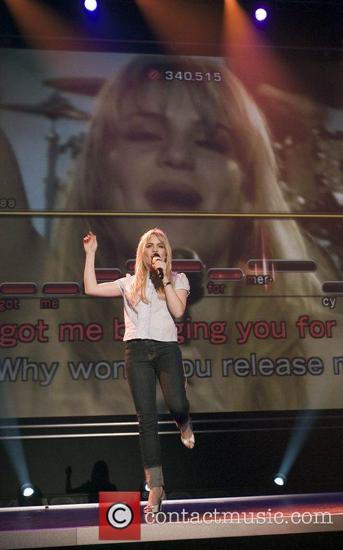 Duffy performing her hit song 'Mercy' at the...