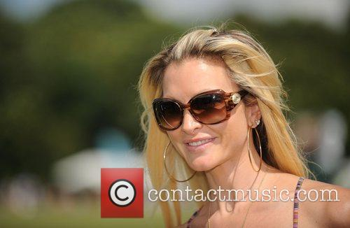 Celebrities at the Duke of Essex Cup polo...