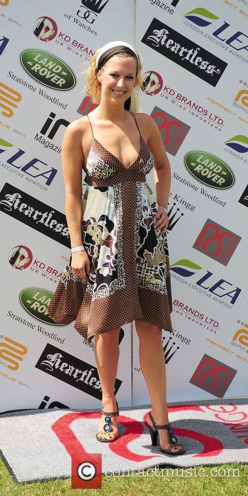 Gemma Atkinson Celebrities at the Duke of Essex...