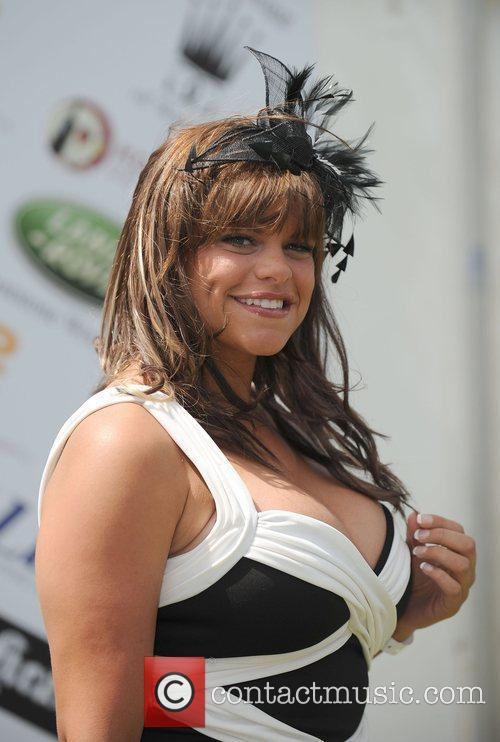 Jade Goody Celebrities at the Duke of Essex...