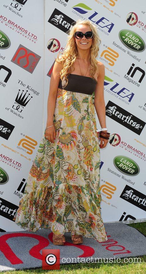Liz McLarnon Celebrities at the Duke of Essex...