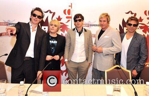 John Taylor, Duran Duran, Nick Rhodes and Simon Le Bon 2