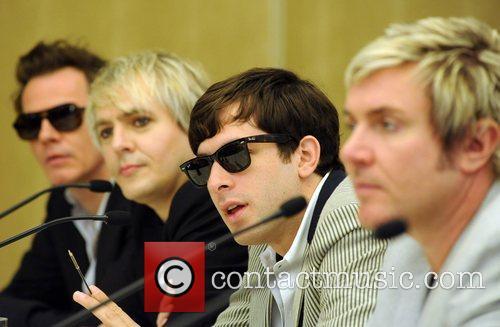 John Taylor, Nick Rhodes and Simon Le Bon 4