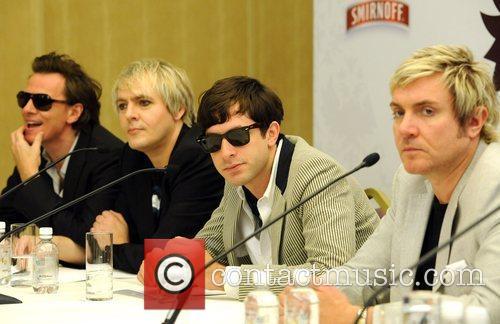 John Taylor, Duran Duran, Nick Rhodes and Simon Le Bon 1