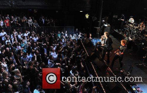 Duran Duran perform at the 'Smirnoff Experience Paris'...