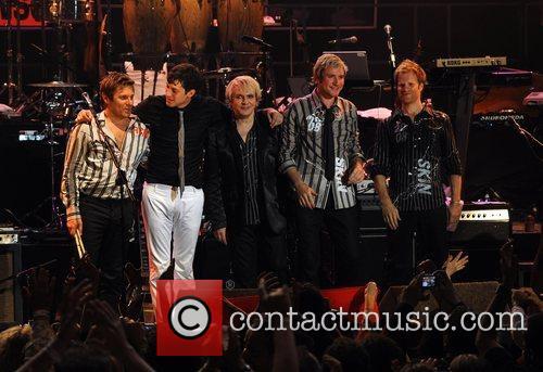 Duran Duran and Mark Ronson perform at the...