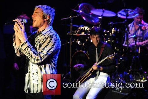 Simon Le Bon of Duran Duran and Mark...