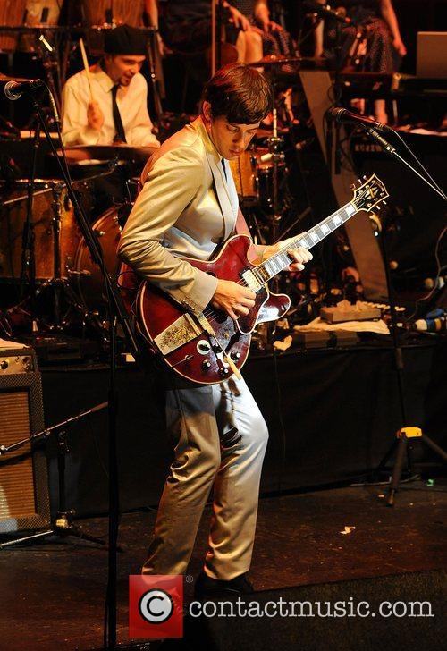 Mark Ronson performing at the 'Smirnoff Experience Paris'...