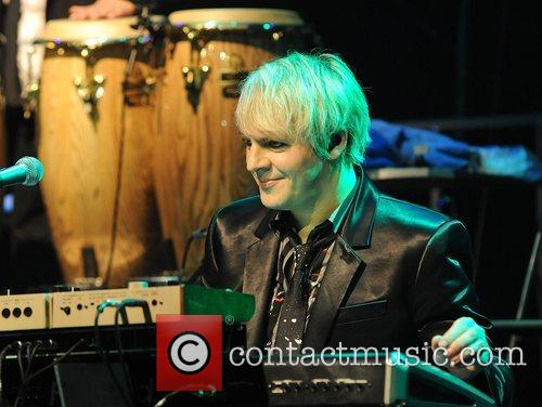 Nick Rhodes performing at the 'Smirnoff Experience Paris'...