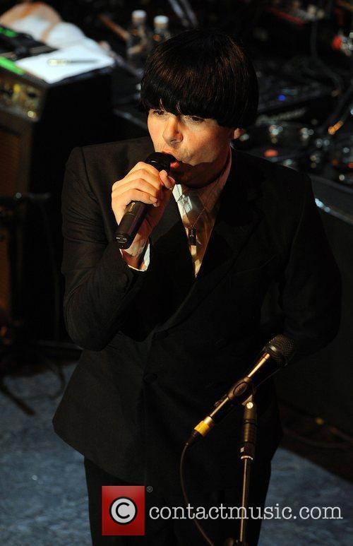 Tim Burgess performing at the 'Smirnoff Experience Paris'...