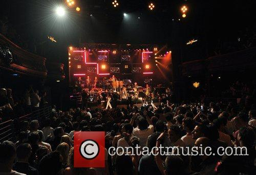 Atmosphere performing at the 'Smirnoff Experience Paris' at...