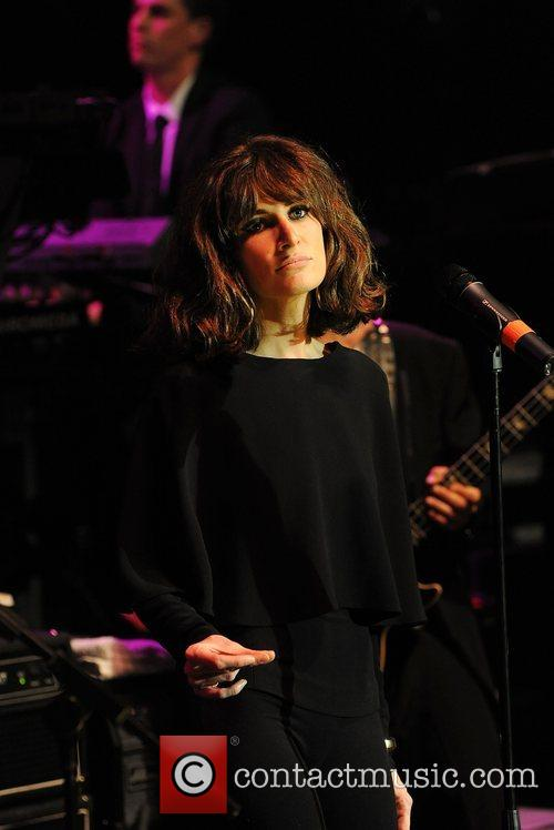 Candie Payne performing at the 'Smirnoff Experience Paris'...