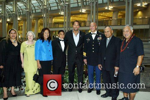 Attending the Congressional Awards 2008 Gold Medal Reception...
