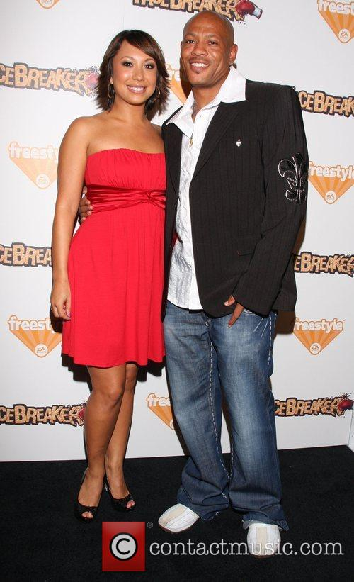 Cheryl Burke and Maurice Greene 2