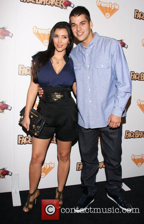 Kim Kardashian and Robert Kardashian Jr. 3