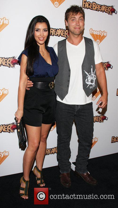 Kim Kardashian and Lance Bass 2
