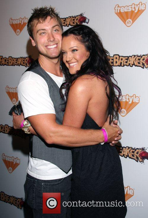 Lance Bass and Lacey Schwimmer 1