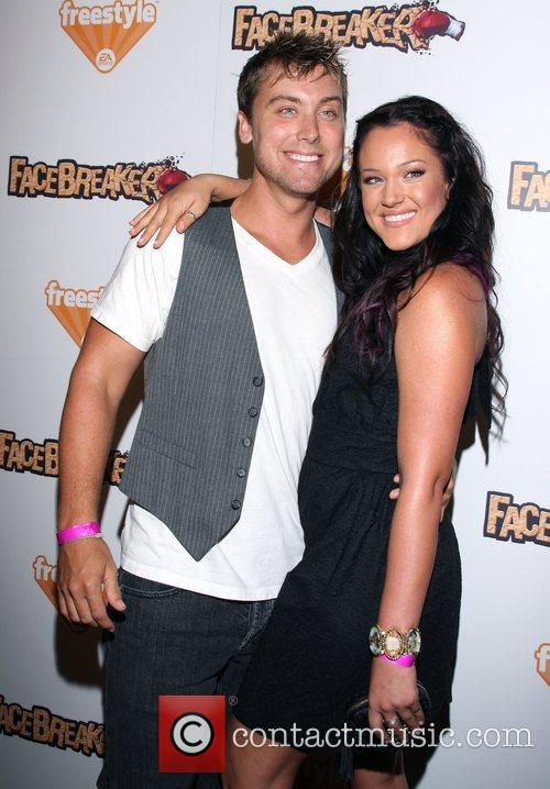 Lance Bass and Lacey Schwimmer 4