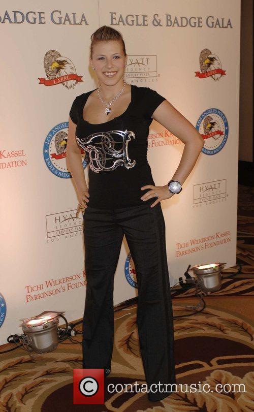 Jody Sweetin 2008 Eagle & Badge Gala held...