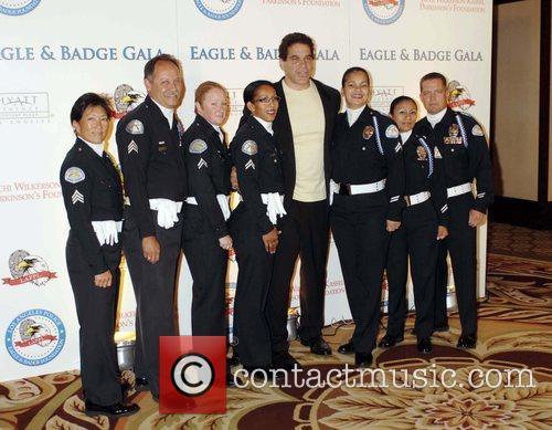 Lou Ferrigno 2008 Eagle & Badge Gala held...