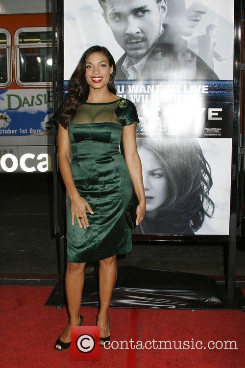 Rosario Dawson Los Angeles Premiere of 'Eagle Eye'...