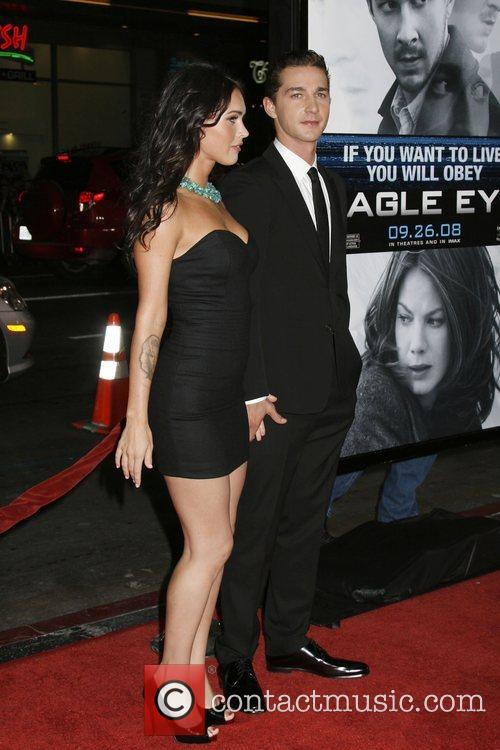 Megan Fox at the Los Angeles Premiere of...