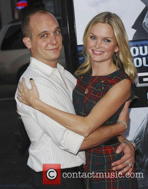 Sunny Mabrey and Ethan Embry Los Angeles Premiere...