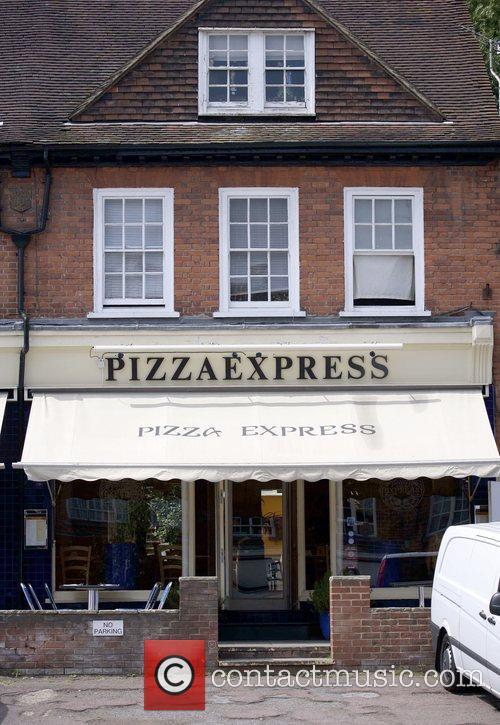 The Radlett branch of Pizza Express where members...