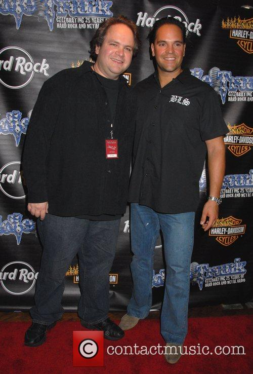 Eddie Trunk and Mike Piazza Eddie Trunk's 25th...