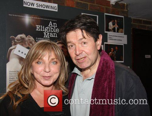 Helen Lederer and Graham Seed at the play...